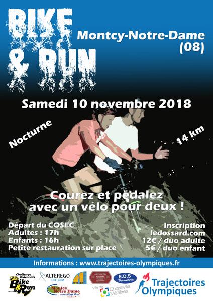 Affiche Bike & Run